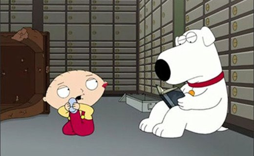 family guy brian and stewie