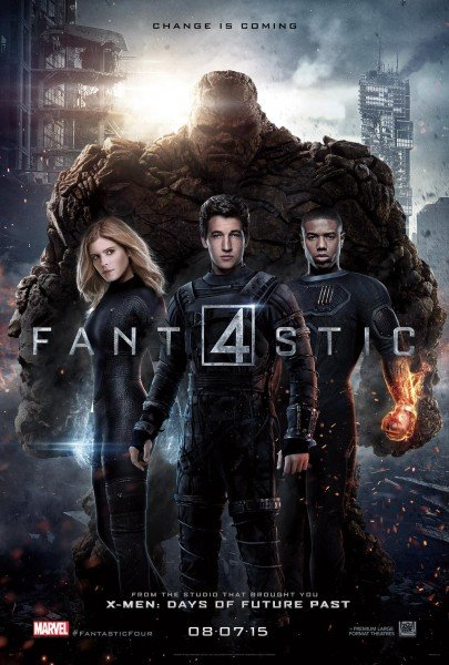 Latest Fantastic Four Poster Brings The Team Together