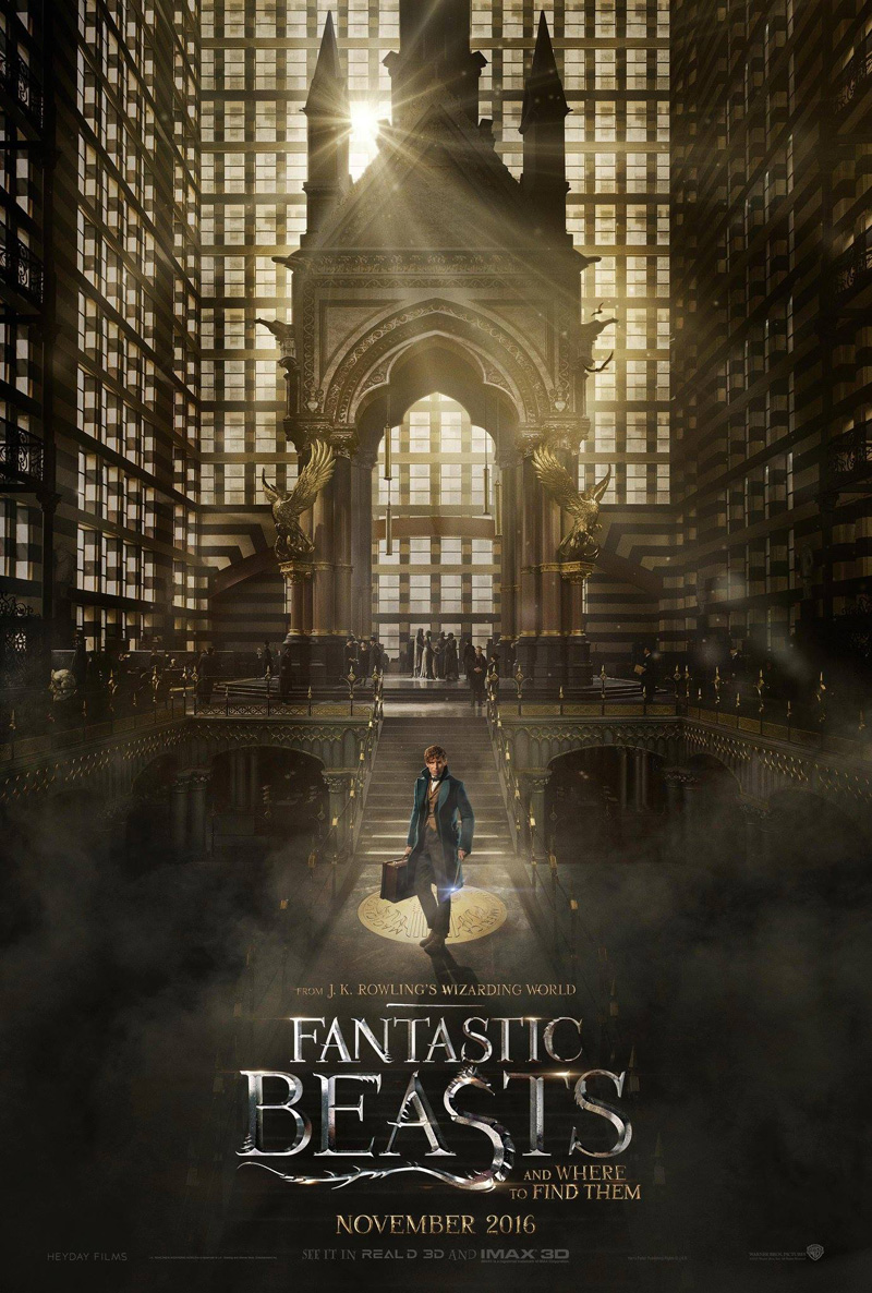 J.K. Rowling Reaffirms Warner's Trilogy Plans For Fantastic Beasts And Where To Find Them
