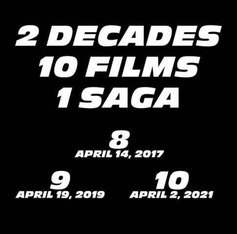 Universal Locks Down 2019 And 2021 Release Dates For Fast & Furious 9 And 10
