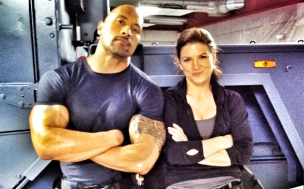 Dwayne Johnson Tweets Picture From The Fast And The Furious Six Set