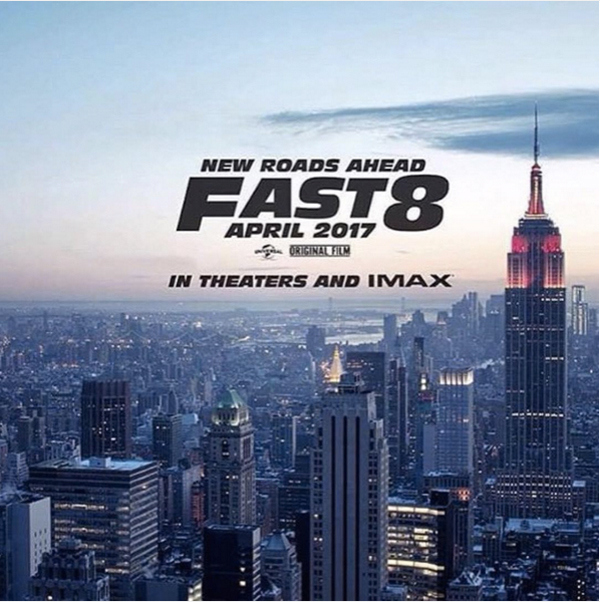 First Teaser Poster For Fast 8 Confirms Title And New York City Setting