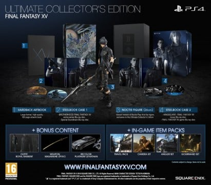 Square Enix To Produce More Final Fantasy XV Ultimate Collector's Editions