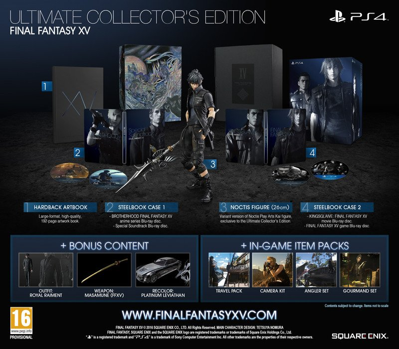 Square Enix Is Aware Of Scalpers Targeting Final Fantasy XV's Ultimate Edition