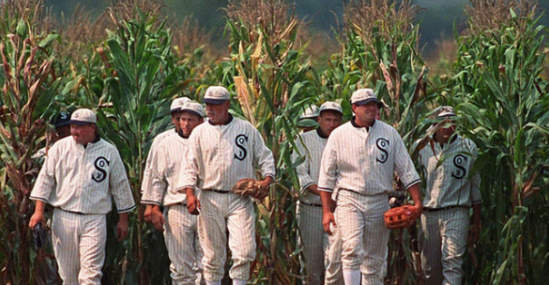 field of dreams cornfield The Top 10 Baseball Movies Of All Time