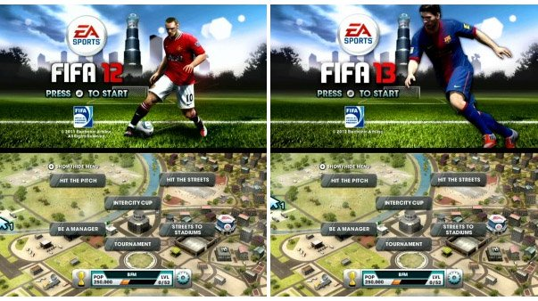 FIFA 13 On Wii Is Basically A Re-Release Of FIFA 12