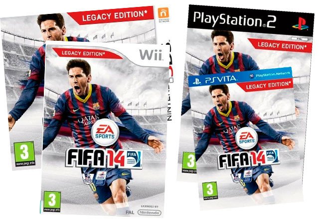 "EA: Wii, Vita And 3DS Versions Of FIFA 14 Have ""No Updates To Gameplay"""