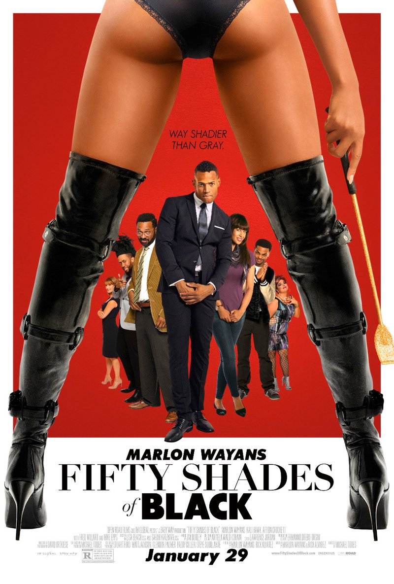 "Fifty Shades Of Black Trailer Promises A Romance ""Way Shadier"" Than Grey"
