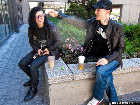 Skrillex Goes On The Offense In Twitter Feud With Deadmau5