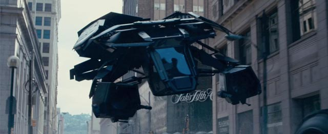New Images From The Dark Knight Rises Feature The Bat
