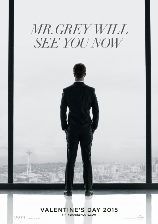 First Poster For Fifty Shades Of Grey Gives Away Very Little