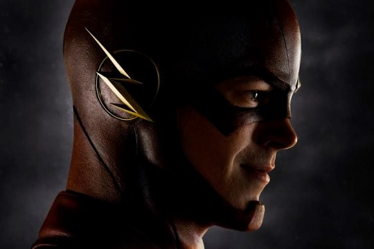 First Look At Grant Gustin In Costume As The Flash