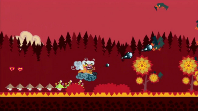 Floating Cloud God Saves The Pilgrims In HD Review