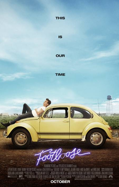 Footloose Trailer And Movie Poster