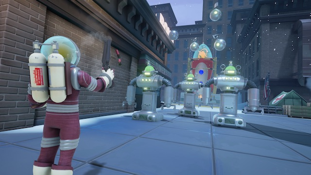 Mars Attacks Meets Team Fortress In Clapfoot's Fortified