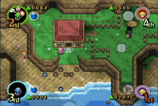 Free Zelda: Four Swords For DSi Will Be GBA Version