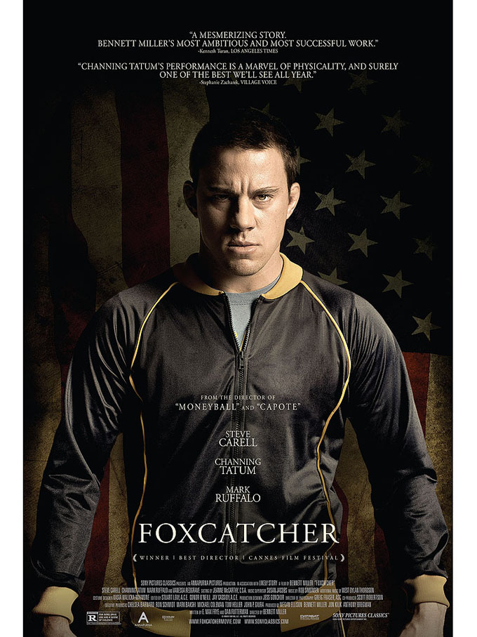 Channing Tatum Looks Dangerous In First Poster For Foxcatcher