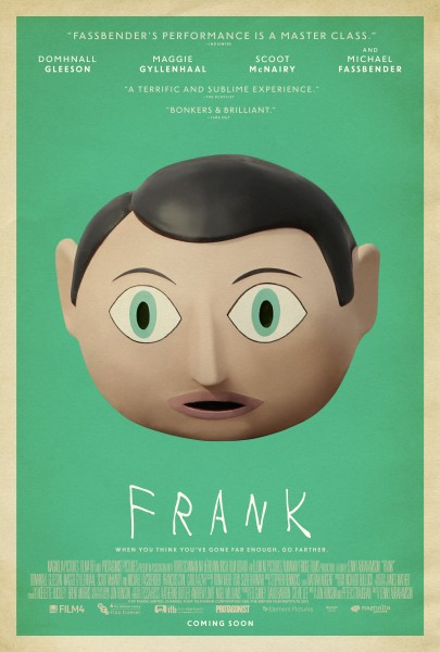 New Trailer, Poster And Pics For Frank, Starring Michael Fassbender