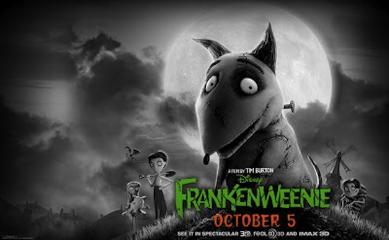 frankenweenie movie by tim burton Fall Movie Preview Spectacular! Part 2   The Films Of October