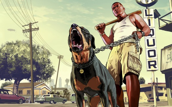 Rockstar's Grand Theft Auto V App Lets You Build Cars And Hang Out With Dogs