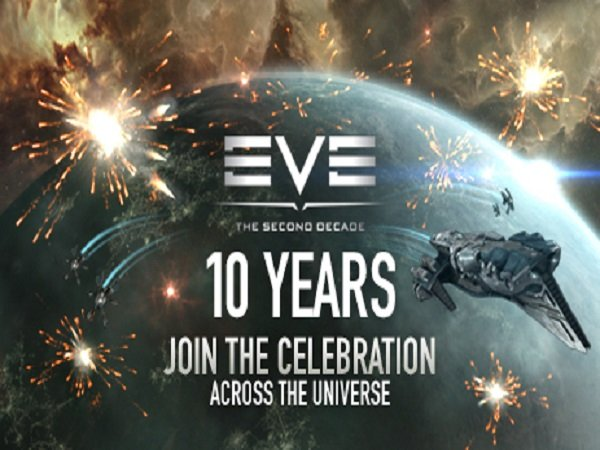 EVE Online 10th Anniversary Breaks Record