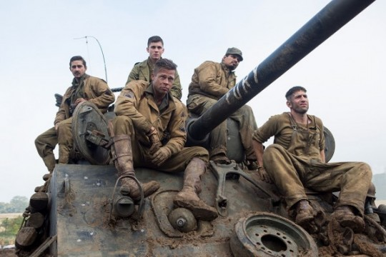 Brad Pitt's Fury Heading For Reshoots In July