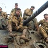 Brad Pitt And Shia LaBeouf Are All Tanked Up In New Fury Images