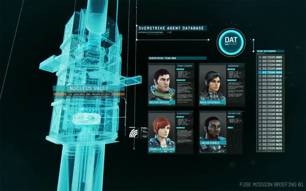 Fuse Teaser Trailer Character Bios Have An Overstrike Flair