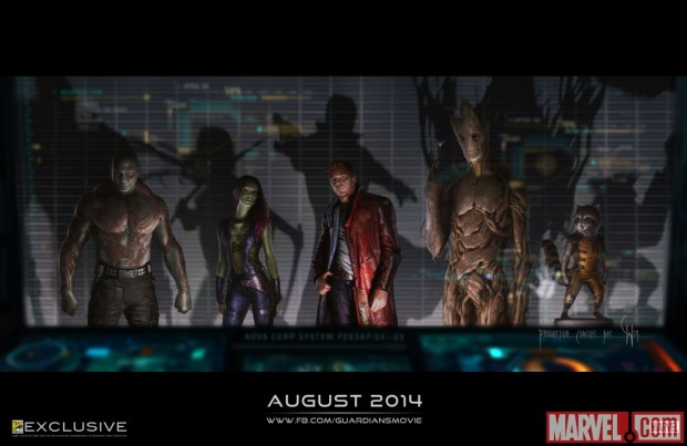 The Unusual Suspects Line Up In First Guardians Of The Galaxy Image, Plus New Synopsis