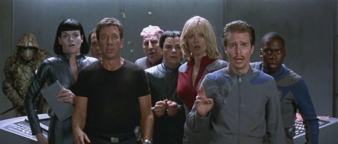 Sam Rockwell Says Galaxy Quest 2 Was Going To Start Shooting Now