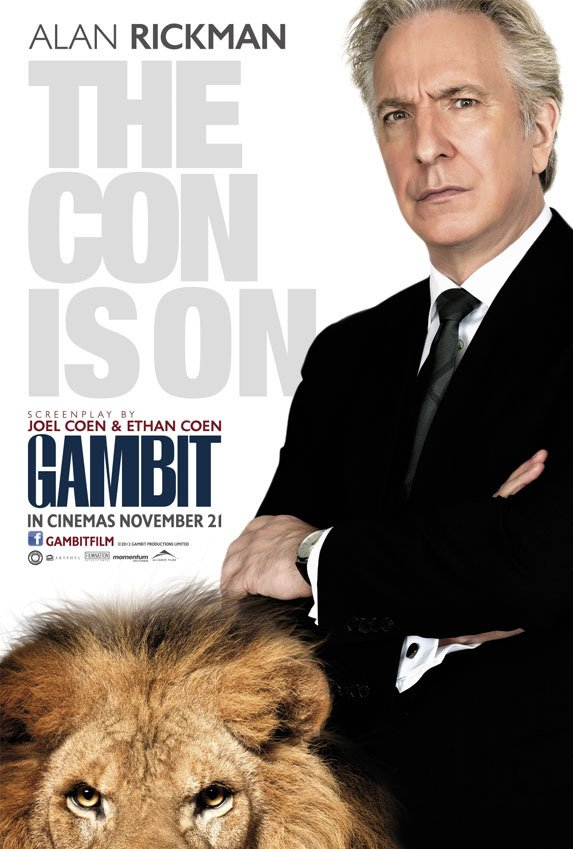International Posters For Gambit Remake Released