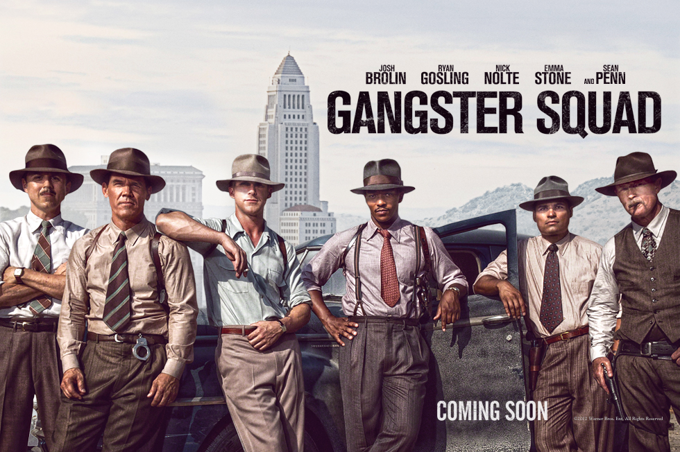 First Trailer For Gangster Squad Released