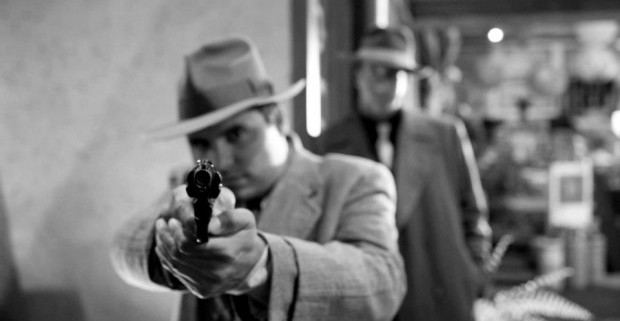 gangster squad 7 620x413 620x321 Gangster Squad Goes Black And White In New Images