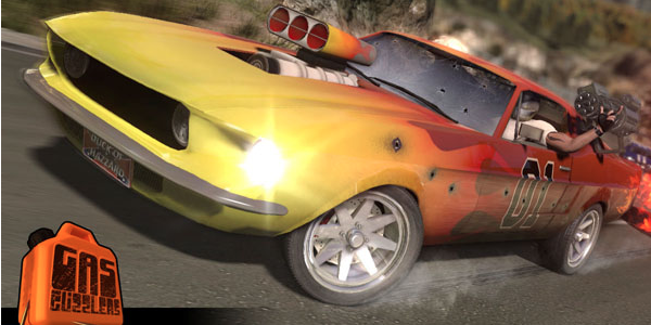 Gas Guzzlers: Combat Carnage Wants To Reboot The Death Rally Genre