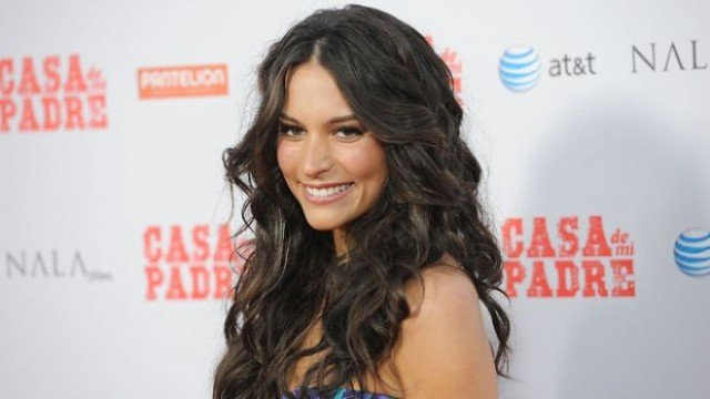 Genesis Rodriguez Goes Home With Topher Grace For Blumhouse Thriller