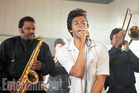 First Look At Chadwick Boseman As James Brown In Get On Up