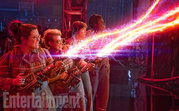 New Ghostbusters Image Teases Thrills, Spills And Paul Feig's Fantastic Four