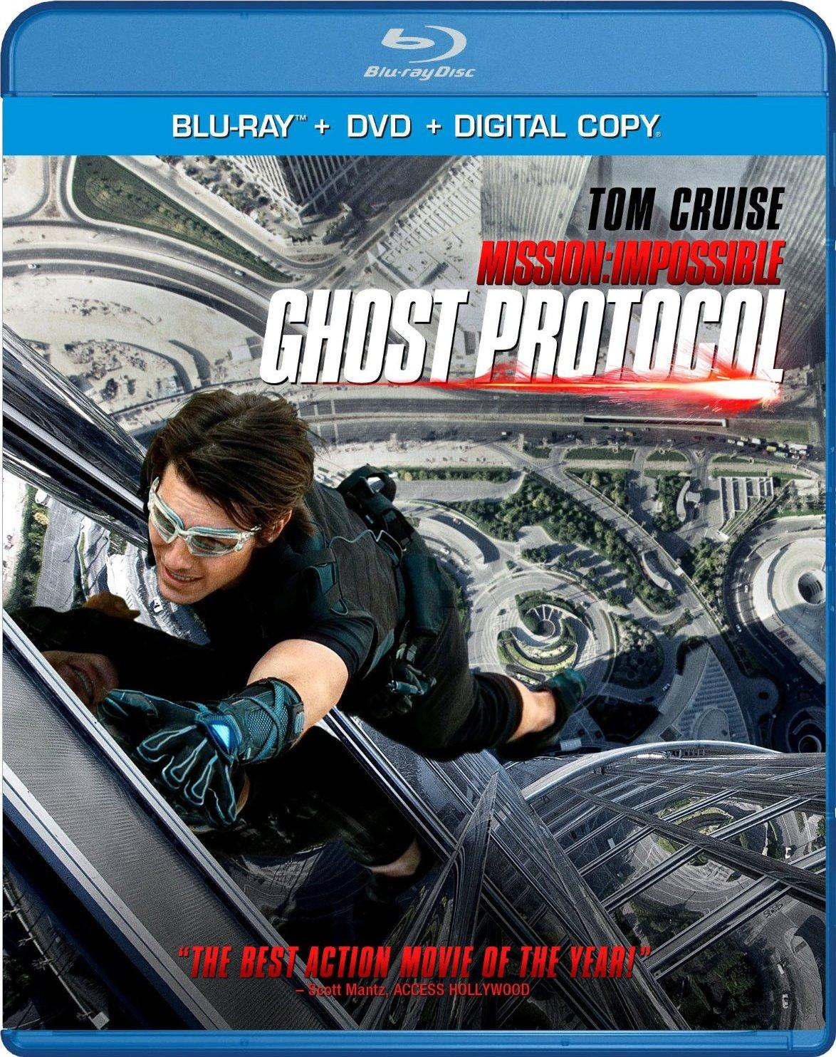 Mission: Impossible - Ghost Protocol Blu-Ray Review