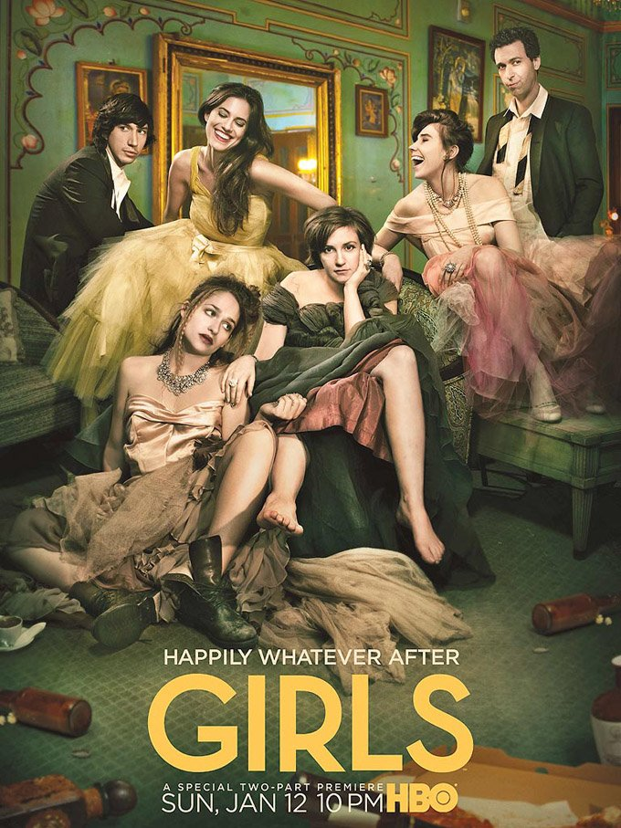 Girls Season 3 Poster Shows The Aftermath Of One Wild Night