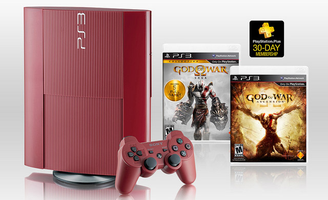 Want A Red PlayStation 3? Hope You Really Love God Of War