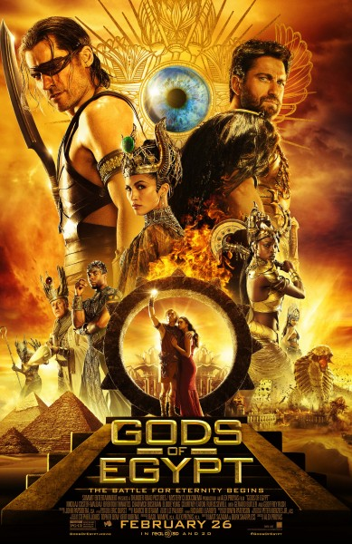 Gods Of Egypt International Poster Gathers The Gods Together