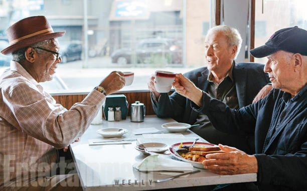 First Image For Going In Style Has Michael Caine, Morgan Freeman And Alan Arkin Unite Against The System