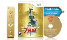 The Legend Of Zelda: Skyward Sword Gets A Golden Limited Edition