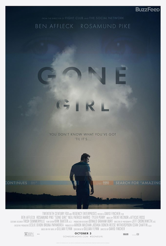 The Search For Amazing Amy Continues In Two New Gone Girl Posters