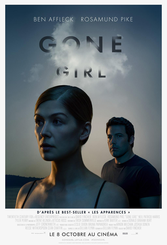 It's All Smoke And Mirrors In New International Poster For David Fincher's Gone Girl