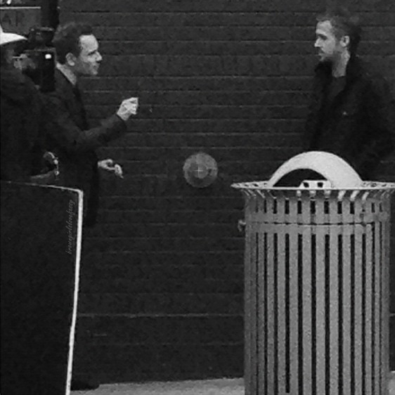 Michael Fassbender Pops Up On The Set Of Terrence Malick's Latest