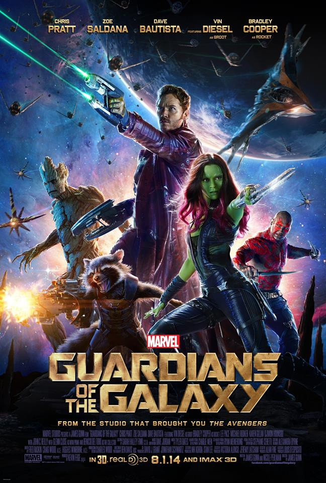 New Guardians Of The Galaxy Poster Lands; Second Trailer Premieres Monday