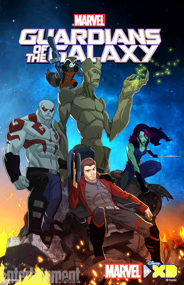 Check Out Test Footage Of The Guardians Of The Galaxy TV Show That's Set To Debut On Disney XD In 2015