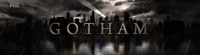 Gotham TV Series Gets A Rain-Soaked Logo And Synopsis