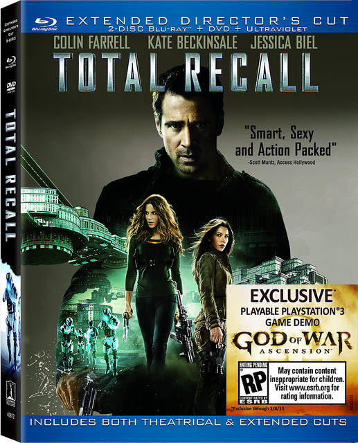 Total Recall Blu-Ray Review